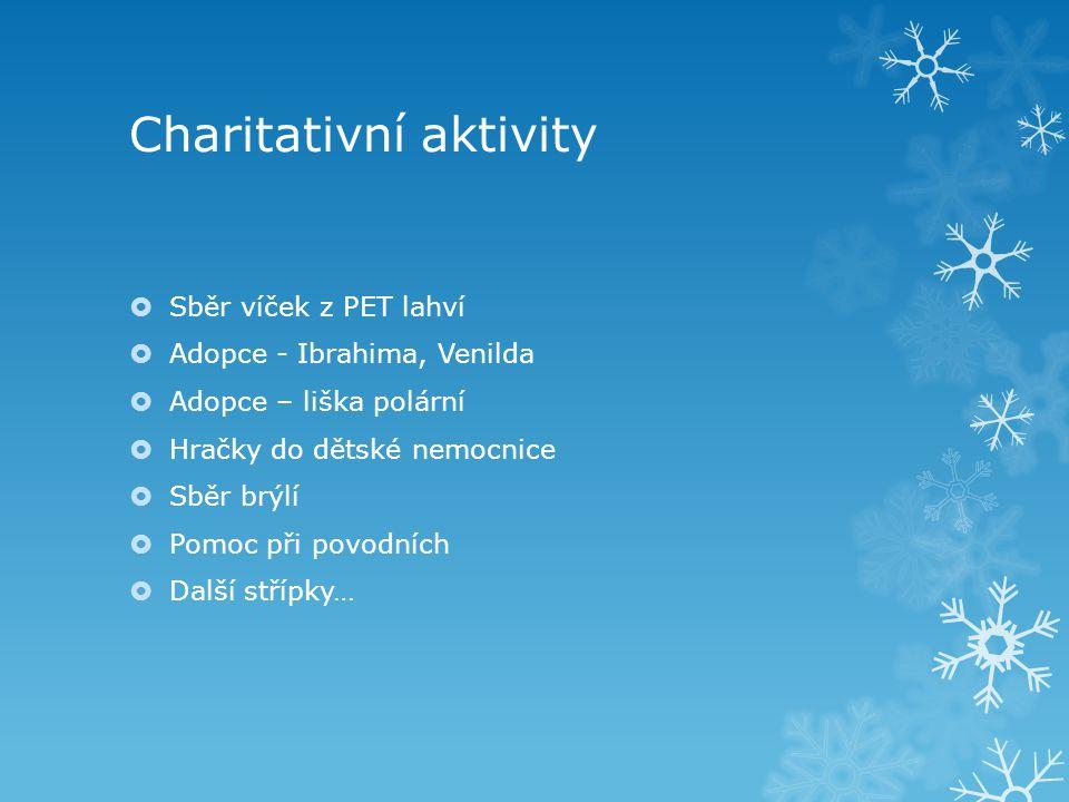 Charitativní aktivity