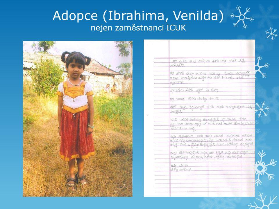 Adopce (Ibrahima, Venilda) nejen zaměstnanci ICUK