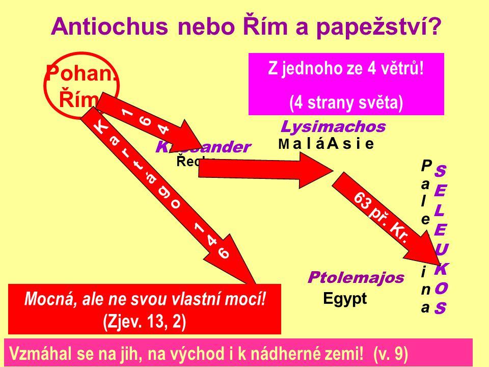 Antiochus nebo Řím a papežství