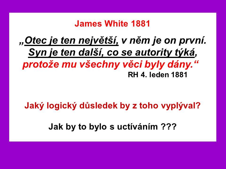 James White 1881