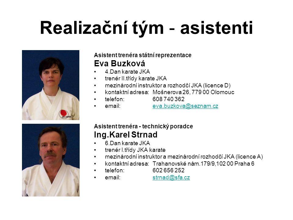 Realizační tým - asistenti