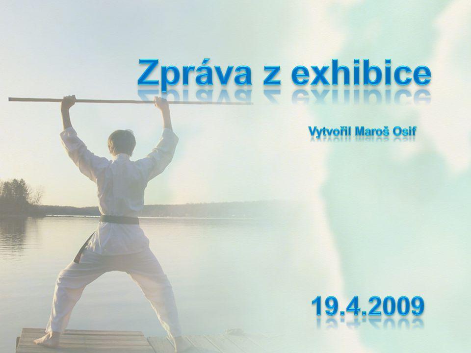 Zpráva z exhibice Vytvořil Maroš Osif 19.4.2009