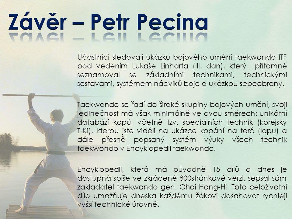 Závěr – Petr Pecina