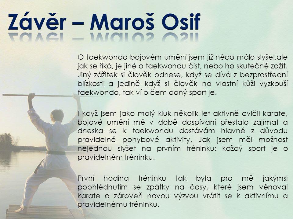 Závěr – Maroš Osif