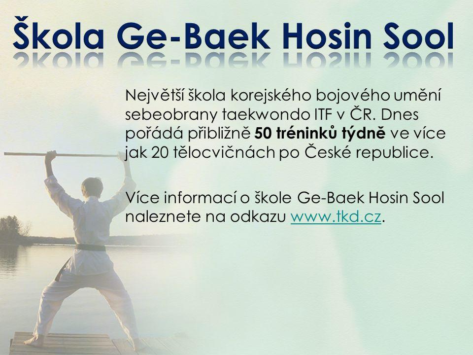 Škola Ge-Baek Hosin Sool