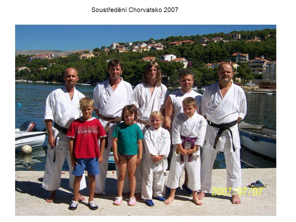 Soustředění Chorvatsko 2007