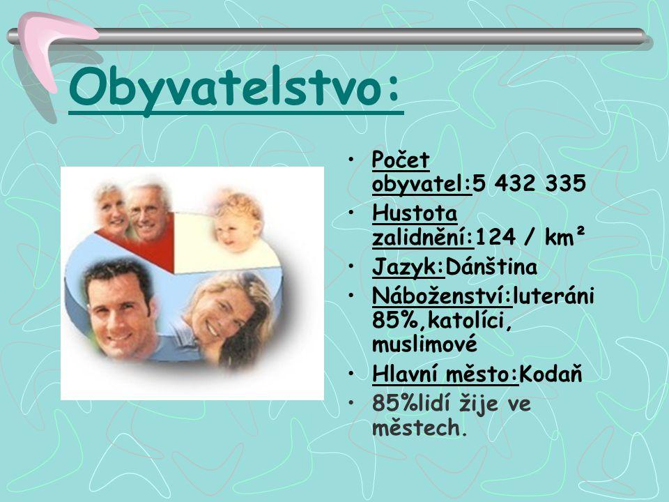 Obyvatelstvo: Počet obyvatel:5 432 335 Hustota zalidnění:124 / km²