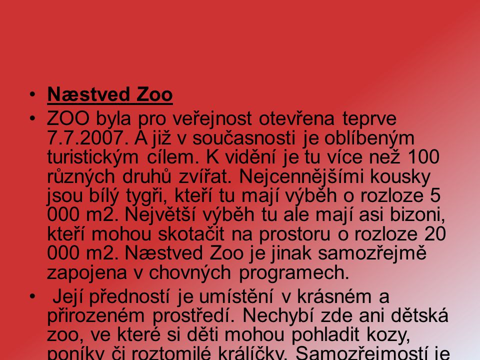 Næstved Zoo