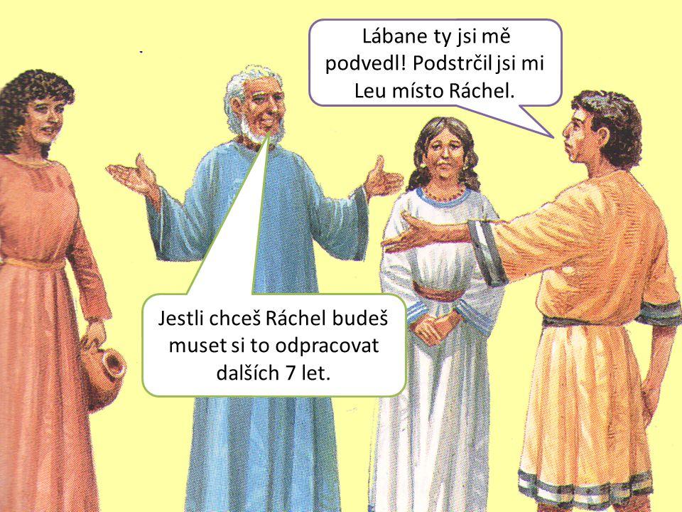 Jestli chceš Ráchel budeš muset si to odpracovat dalších 7 let.