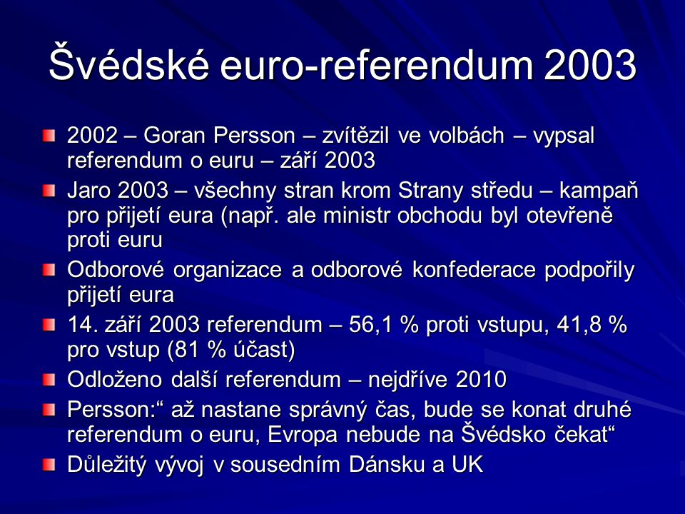 Švédské euro-referendum 2003