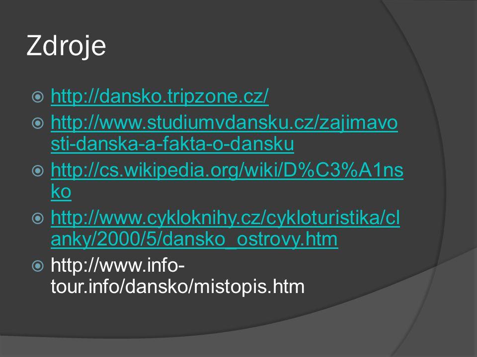 Zdroje http://dansko.tripzone.cz/