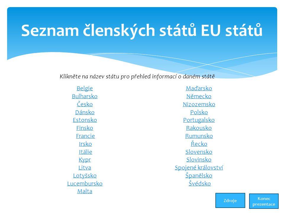 Seznam členských států EU států