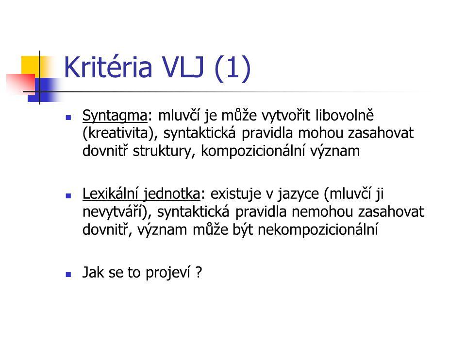 Kritéria VLJ (1)