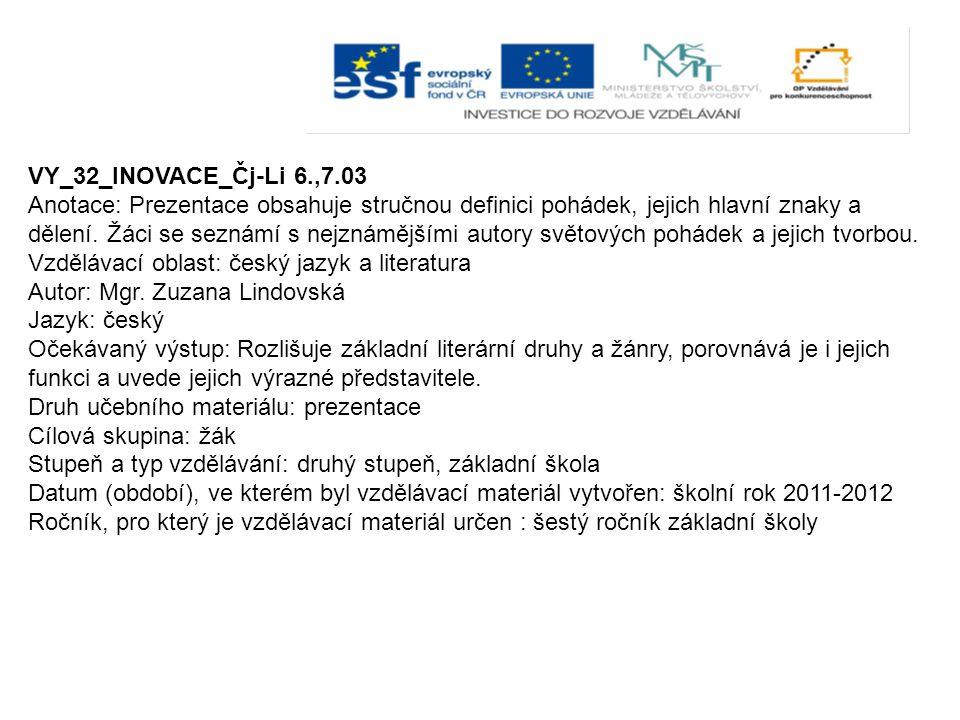 VY_32_INOVACE_Čj-Li 6.,7.03