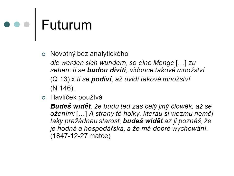 Futurum Novotný bez analytického