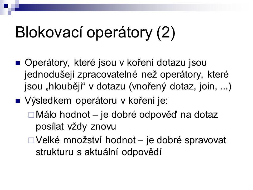 Blokovací operátory (2)
