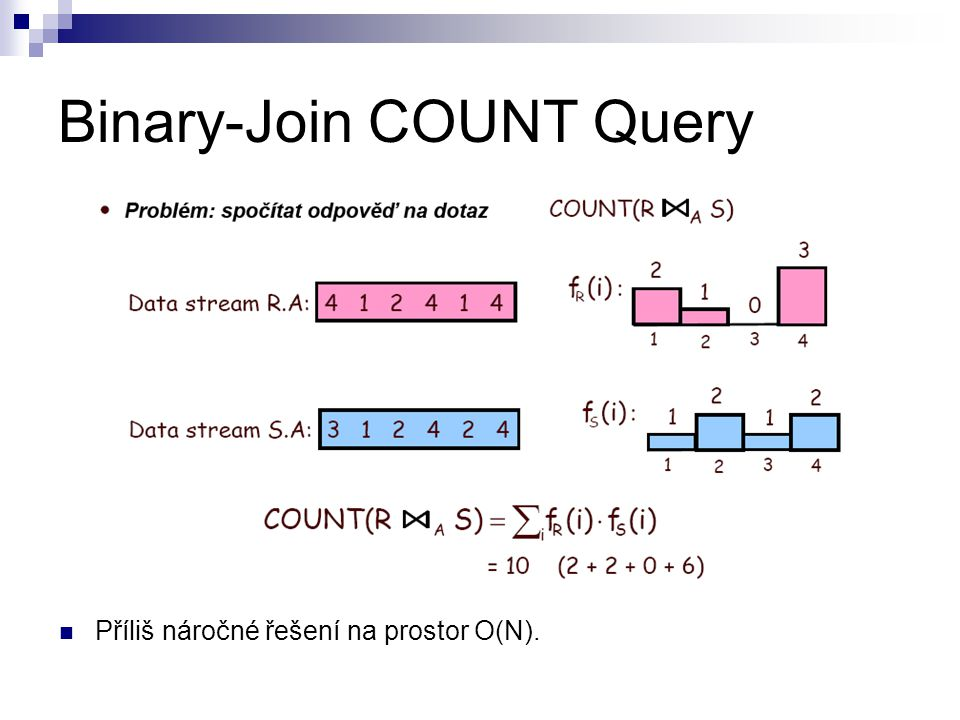 Binary-Join COUNT Query