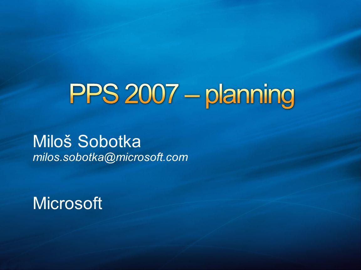 Miloš Sobotka milos.sobotka@microsoft.com Microsoft
