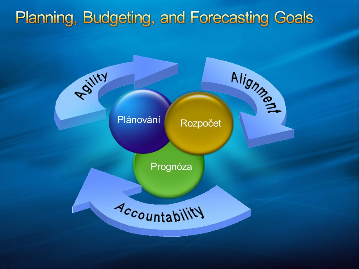 Planning, Budgeting, and Forecasting Goals