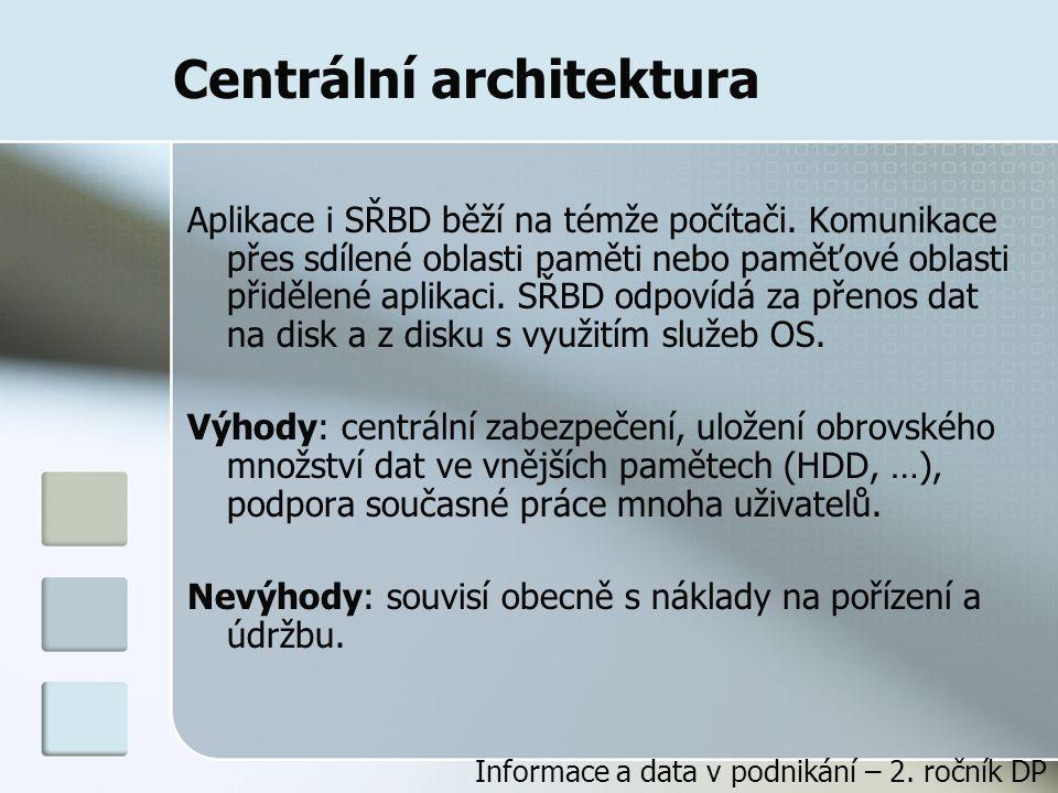 Centrální architektura