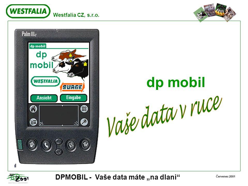 dp mobil Vaše data v ruce