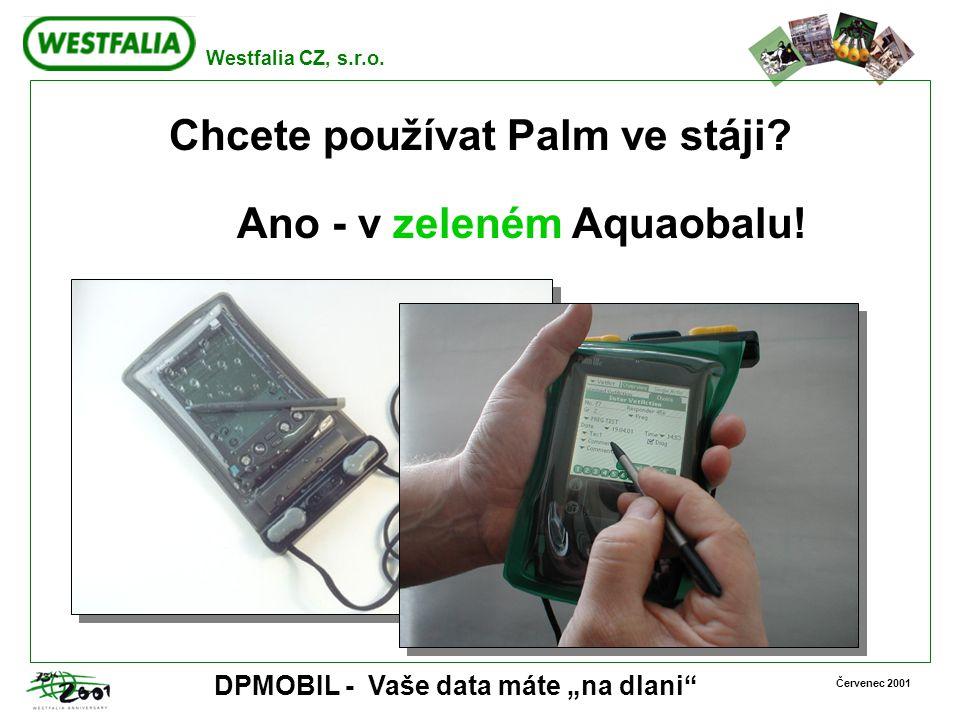 Chcete používat Palm ve stáji