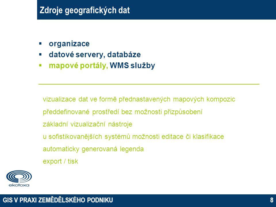 Zdroje geografických dat