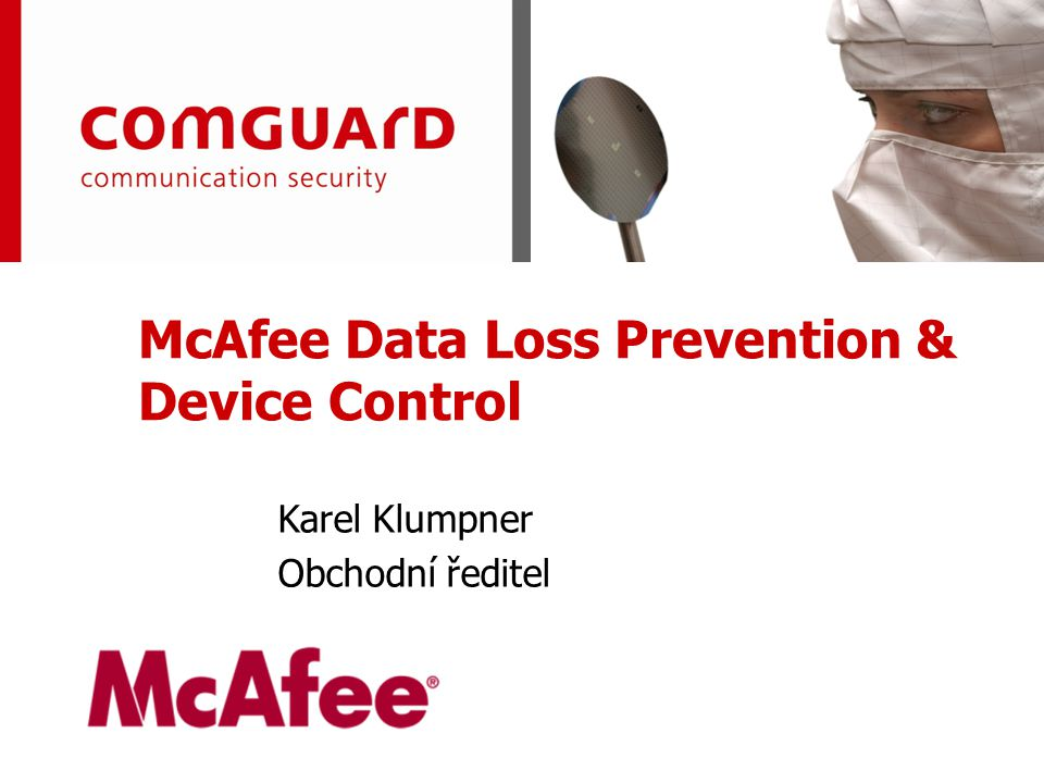 McAfee Data Loss Prevention & Device Control