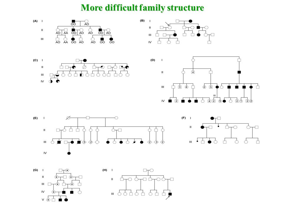 More difficult family structure