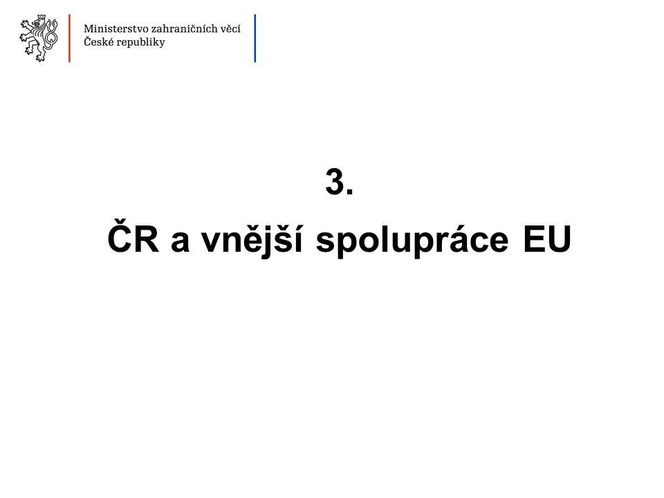 ČR a vnější spolupráce EU