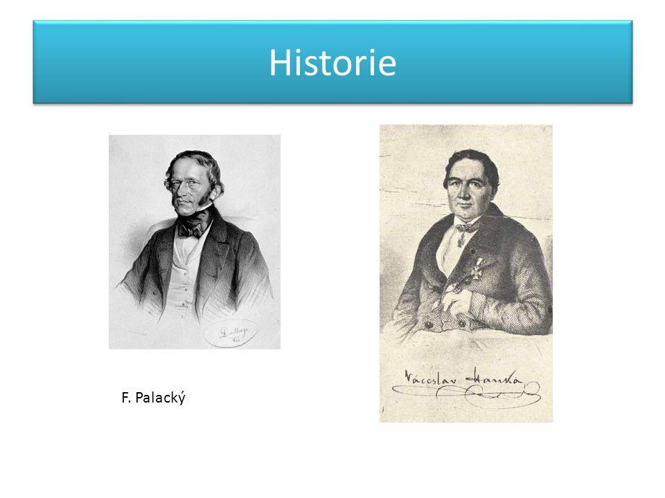 Historie F. Palacký