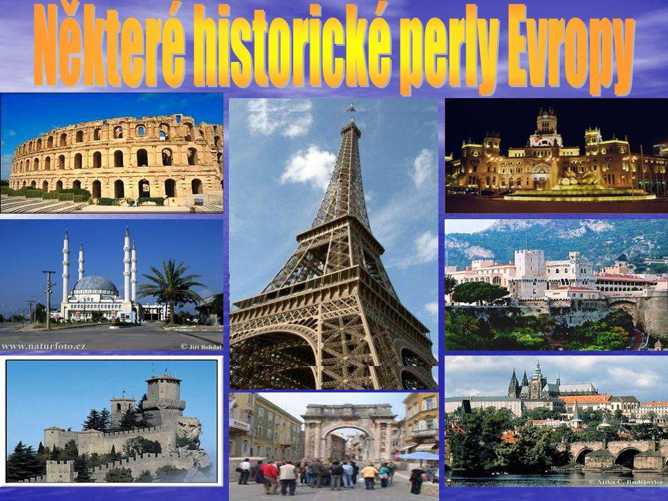 Některé historické perly Evropy