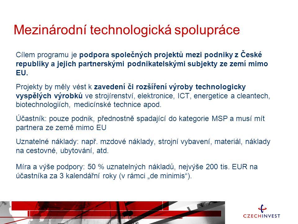 Mezinárodní technologická spolupráce