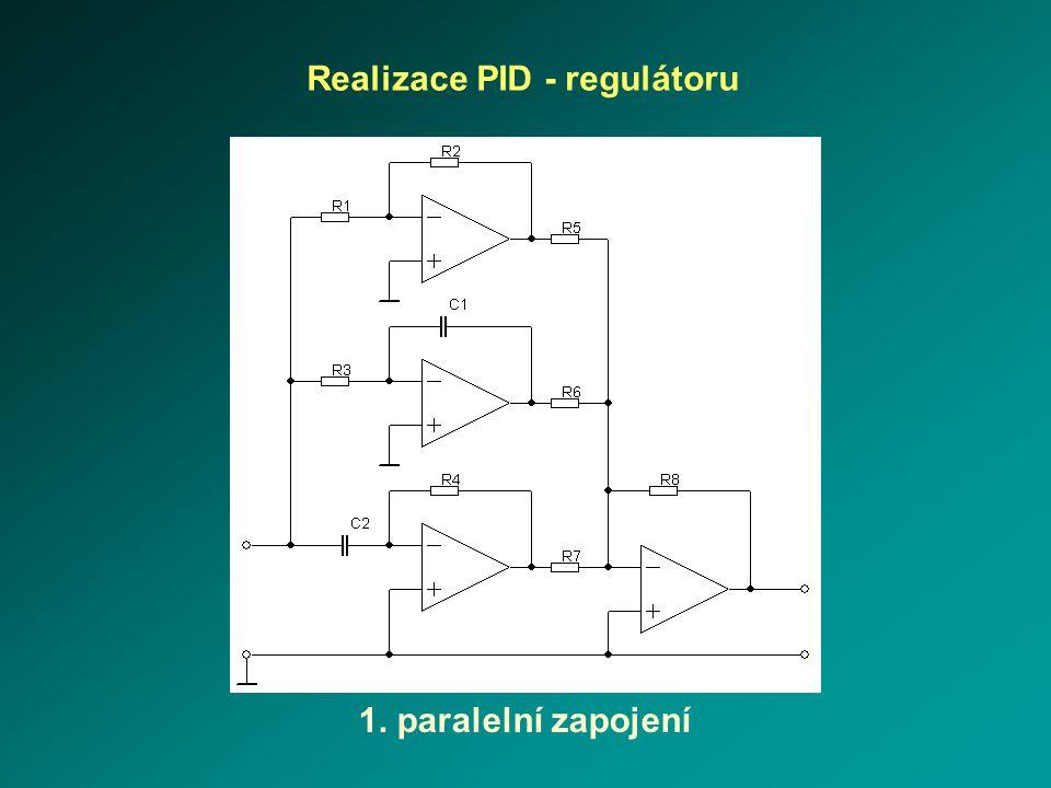 Realizace PID - regulátoru
