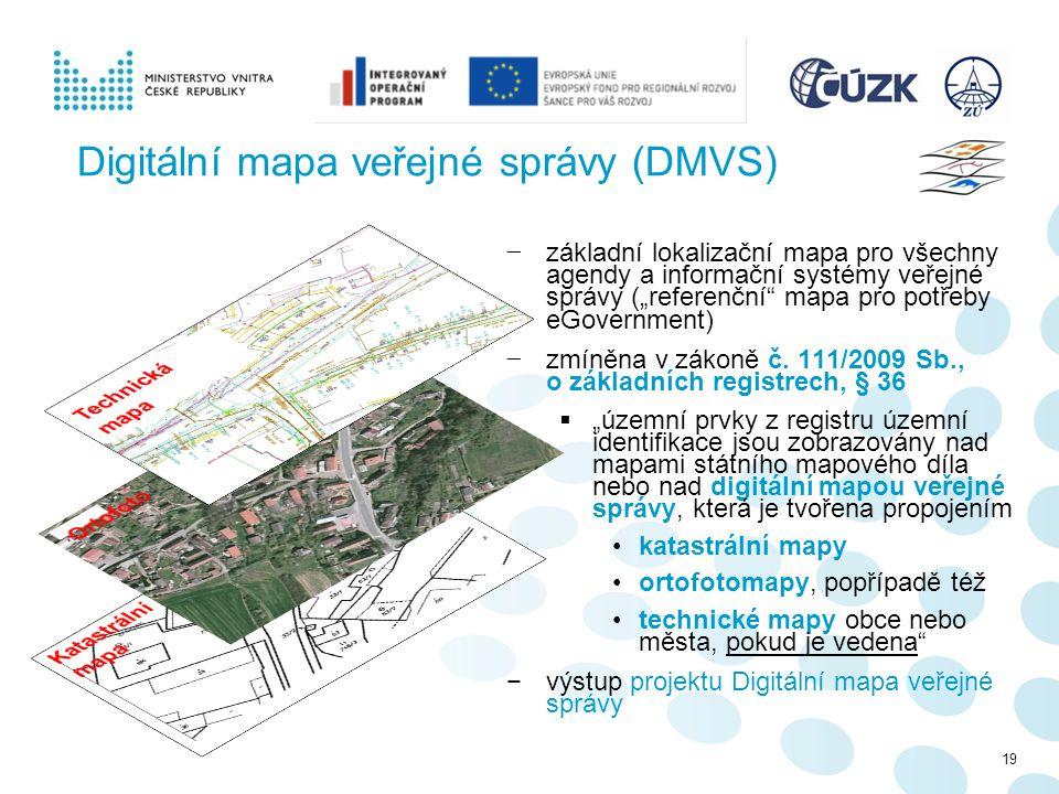 Digitální mapa veřejné správy (DMVS)