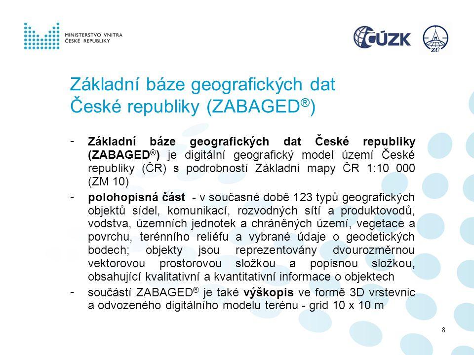 Základní báze geografických dat České republiky (ZABAGED®)