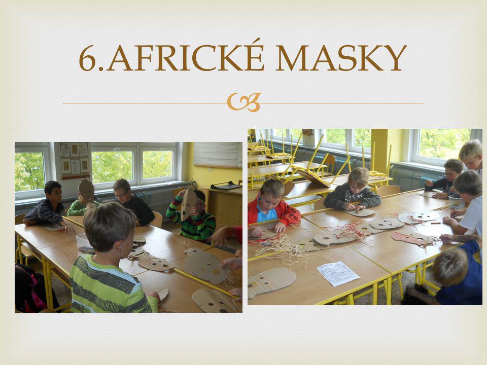 6.AFRICKÉ MASKY