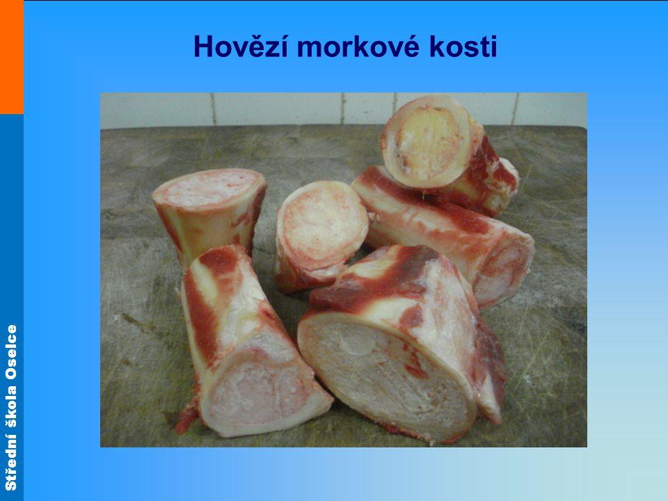 Hovězí morkové kosti