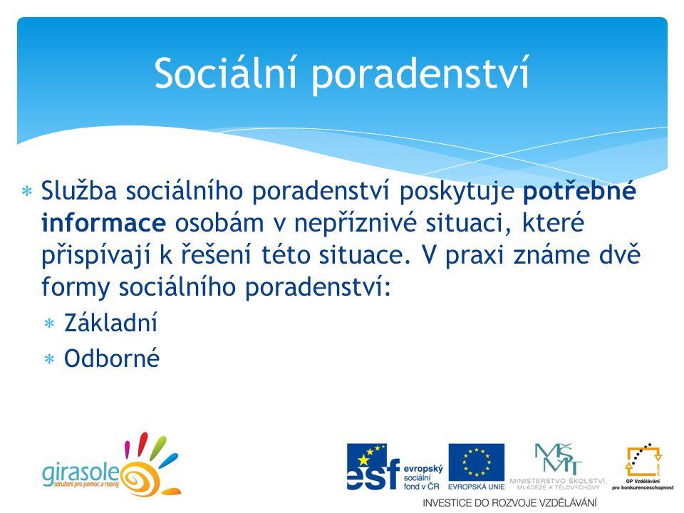 Sociální poradenství