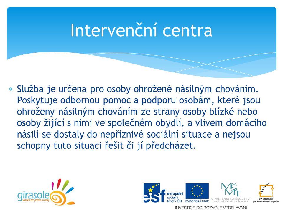 Intervenční centra