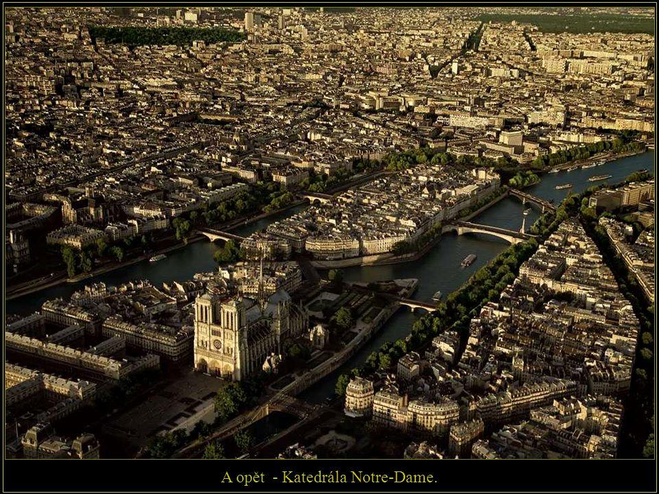 A opět - Katedrála Notre-Dame.