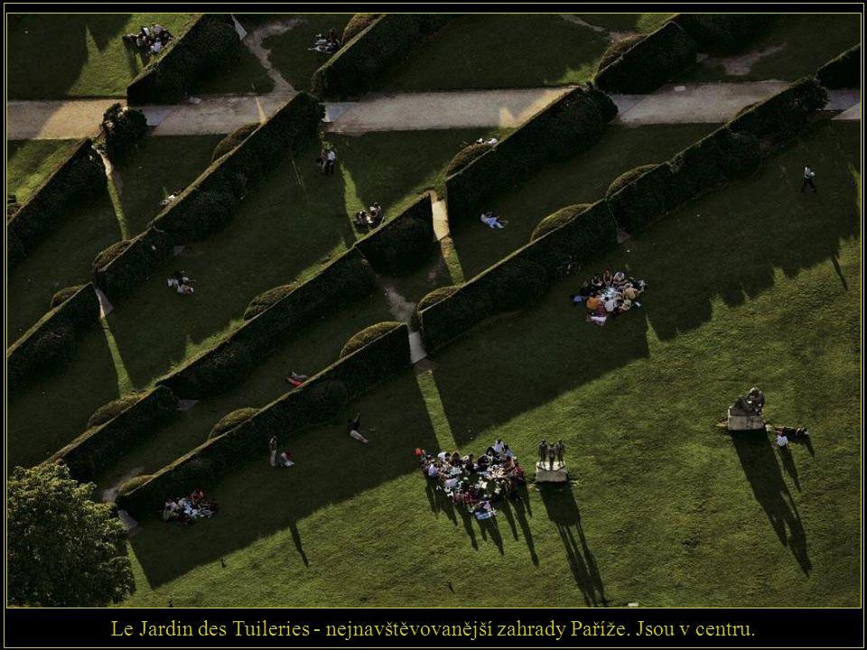 Le Jardin des Tuileries - nejnavštěvovanější zahrady Paříže