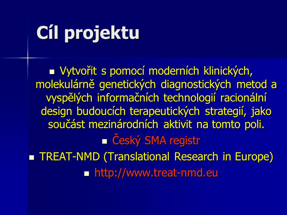 TREAT-NMD (Translational Research in Europe)