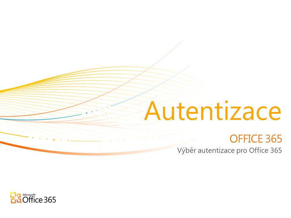 Výběr autentizace pro Office 365