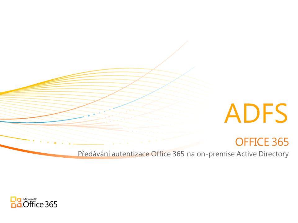 Předávání autentizace Office 365 na on-premise Active Directory
