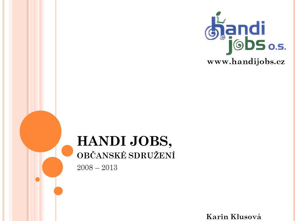 HANDI JOBS, občanské sdružení