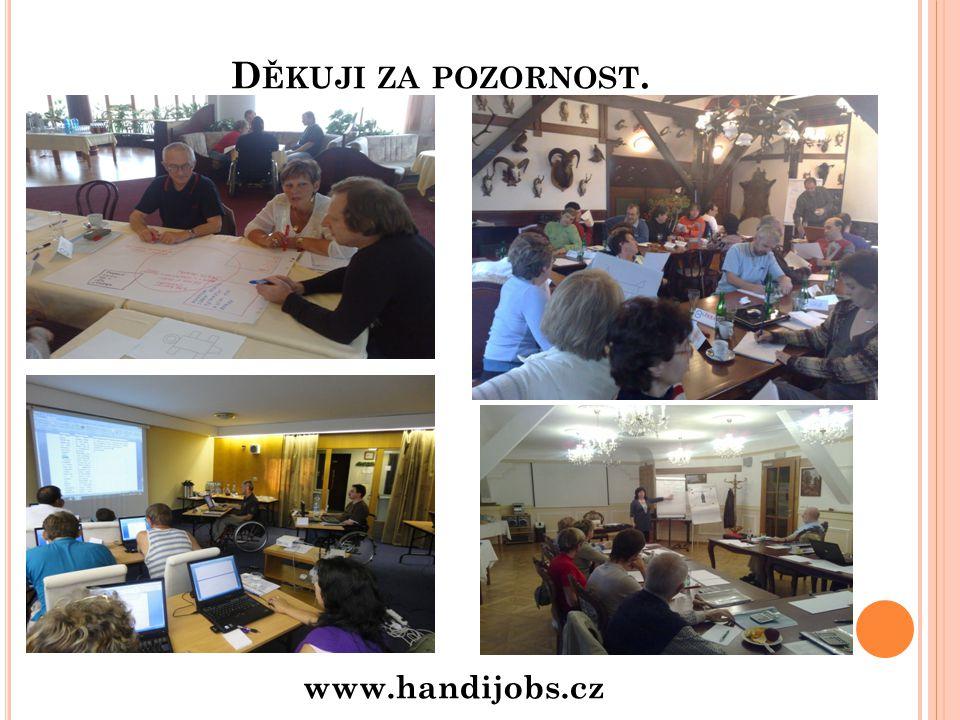 Děkuji za pozornost. www.handijobs.cz