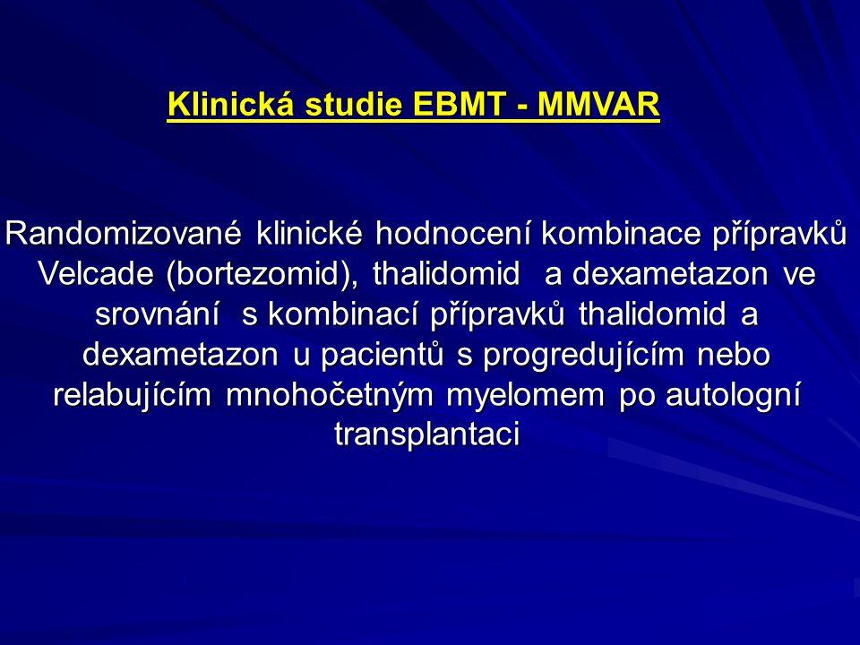 Klinická studie EBMT - MMVAR