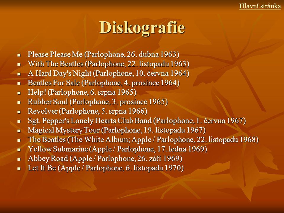 Diskografie Please Please Me (Parlophone, 26. dubna 1963)