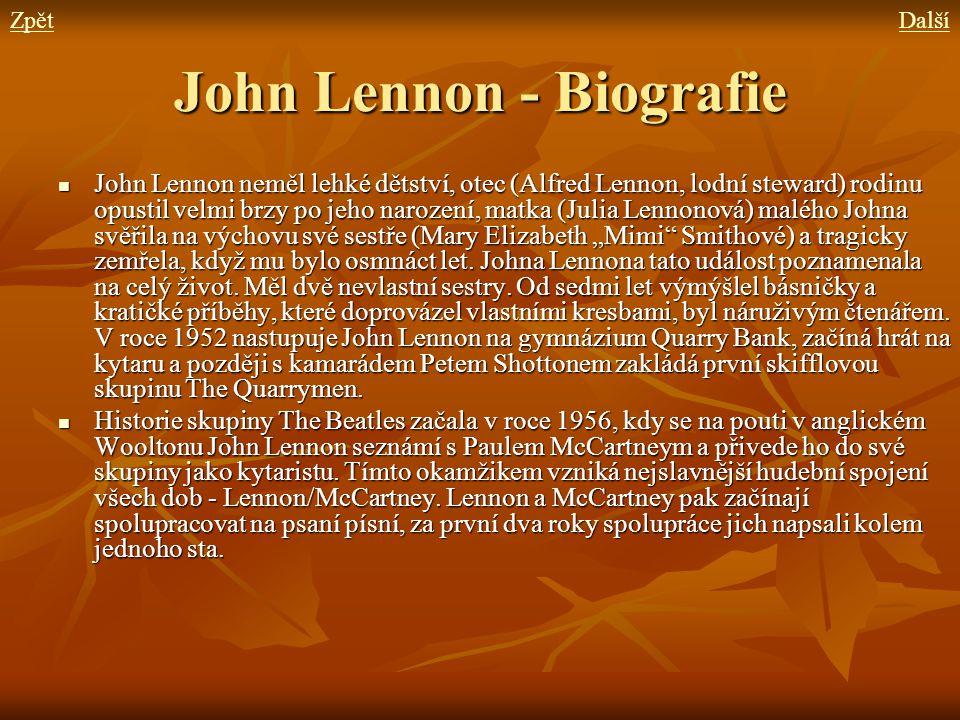 John Lennon - Biografie